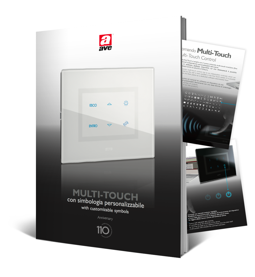 Brochure comando multi touch