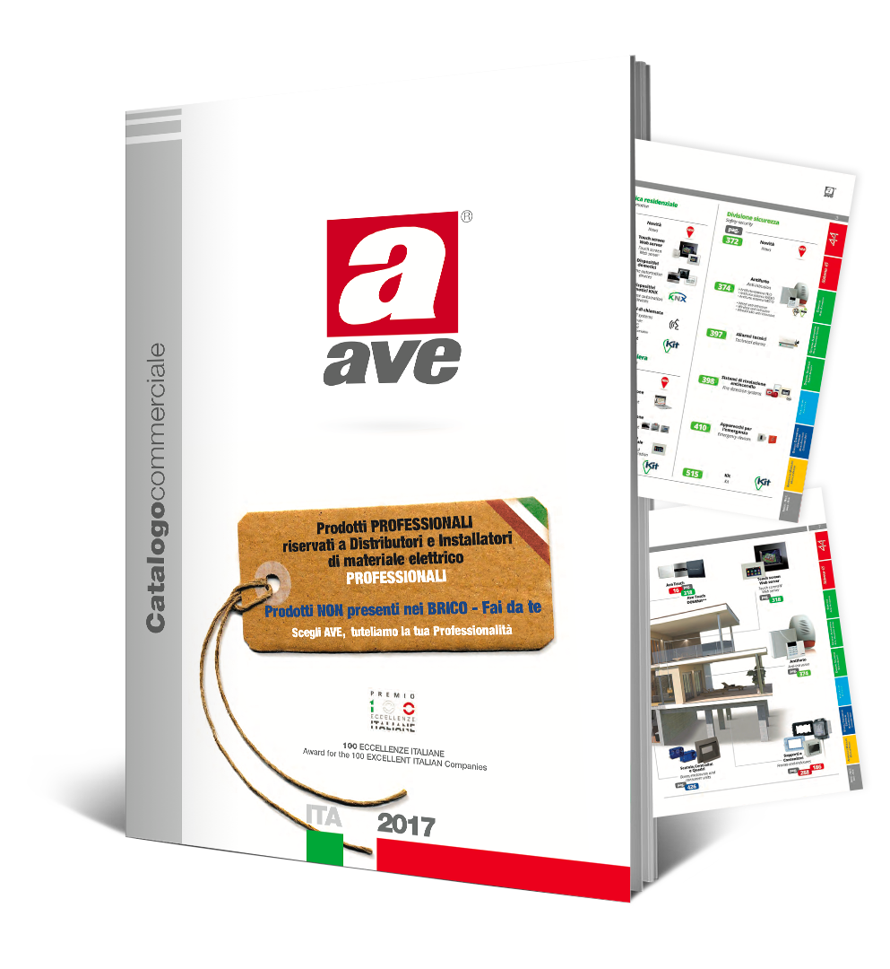 Catalogo Commerciale AVE 2017