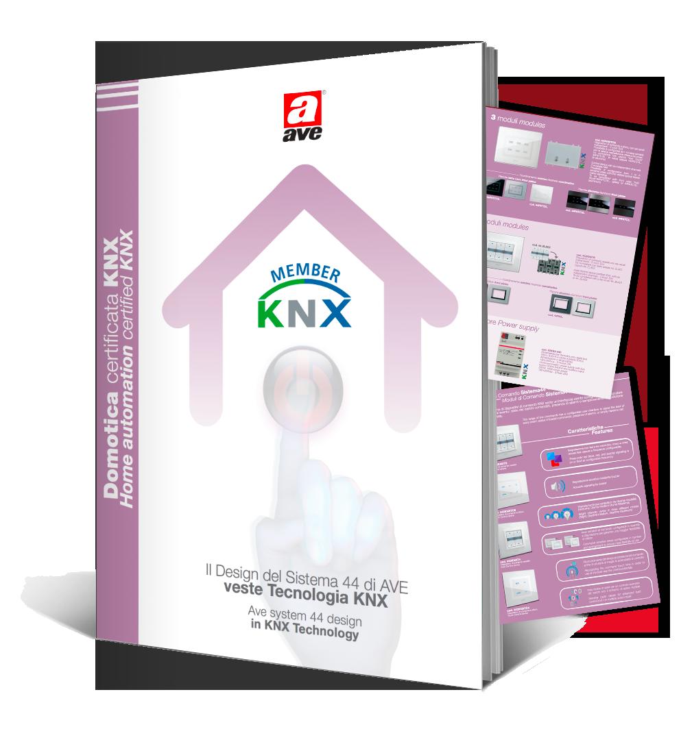 Dépliant domotica certificata KNX