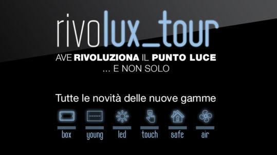 Al via il rivolux tour stasera evento inaugurale di Brescia