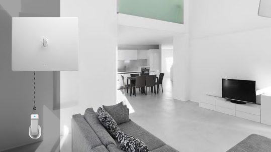 New Style 44 in Corian, il punto luce in stile minimal