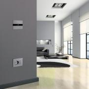 Serie ALLUMIA Touch - Punto luce e Serie ALLUMIA con placca Personal punto presa