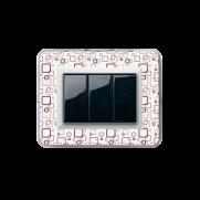 Serie LIFE con placca trasparente personalizzabile (da assemblare)