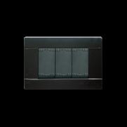 Serie Noir con placca Tecnopolimero