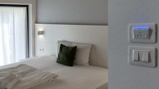 Design and hotel automation at Borgo San Nazzaro