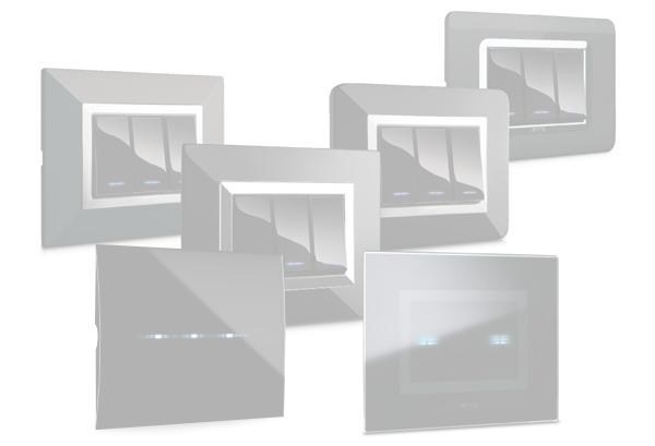 Allumia touch serie civile 44 ave touch - Interruttori ave sistema 45 ...