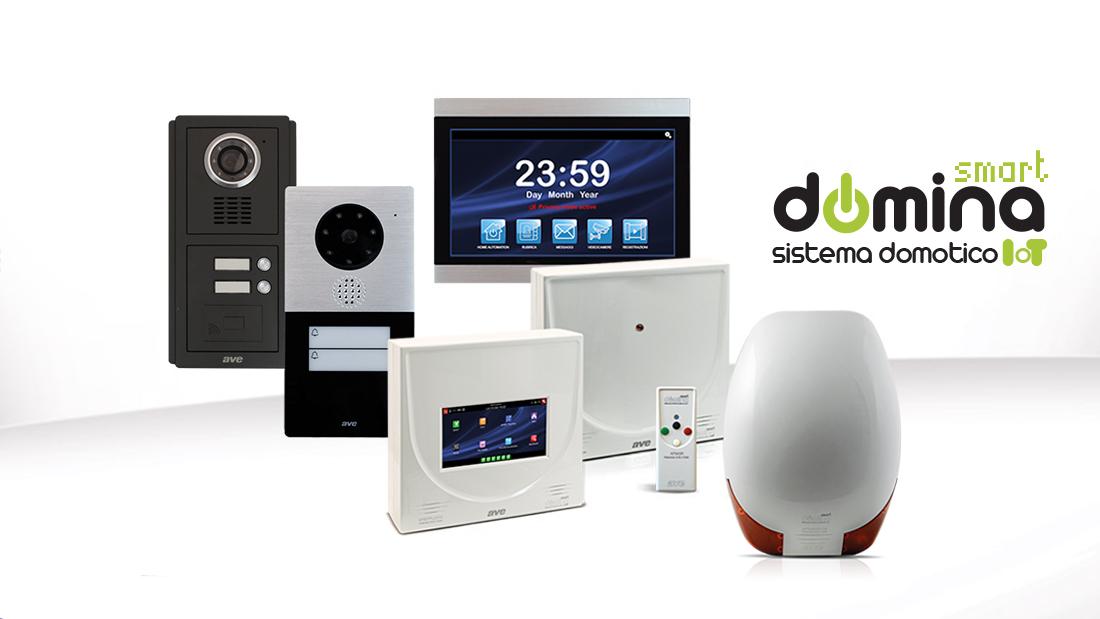 DOMINA Smart un unico grande sistema integrato per domotica, antifurto e videocitofonia