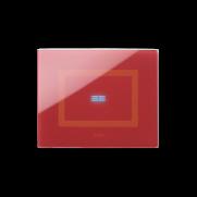 Serie DOMUS Touch - Rosso Pompei finitura lucida