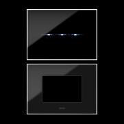 Placca Young colorazione Nero Assoluto