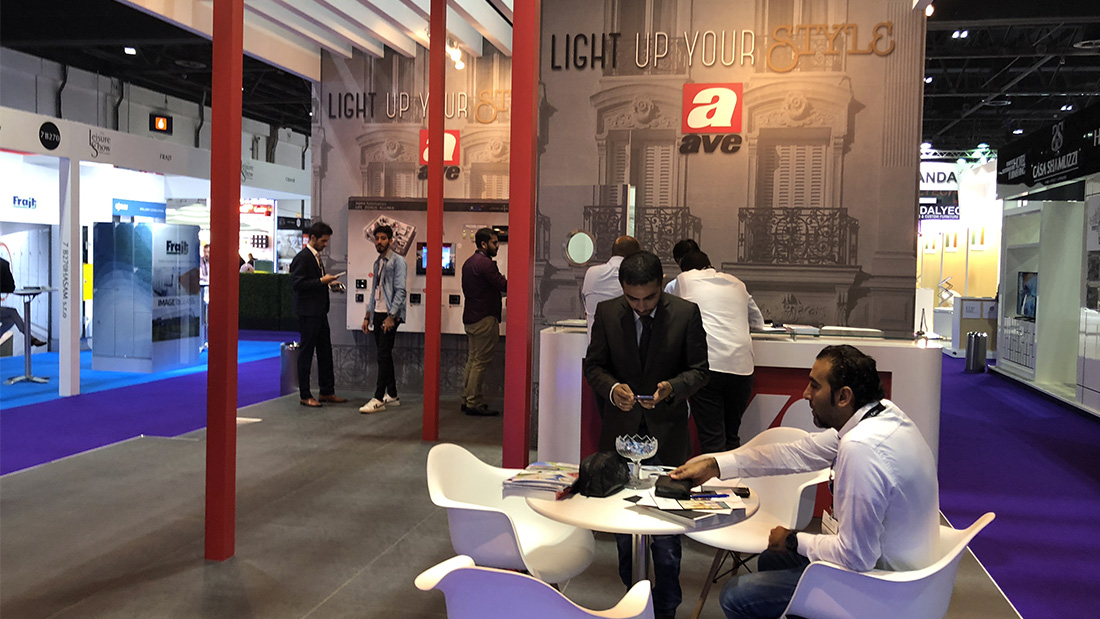 AVE innovation was protagonist at The Hotel Show Dubai