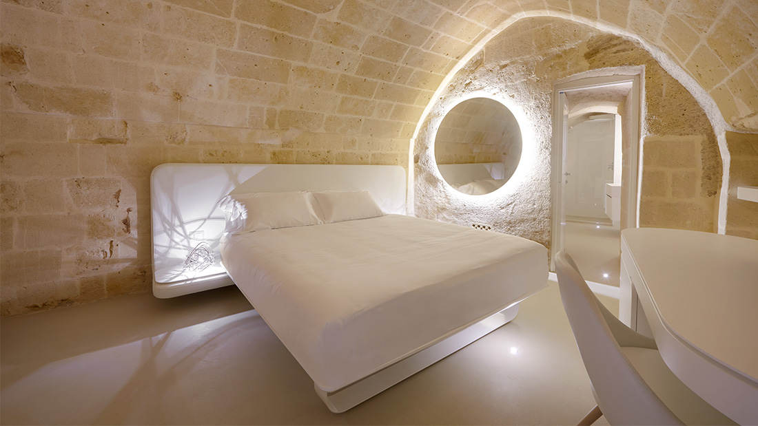 AVE design conquers Matera at the new Aquatio Cave Luxury Hotel & SPA