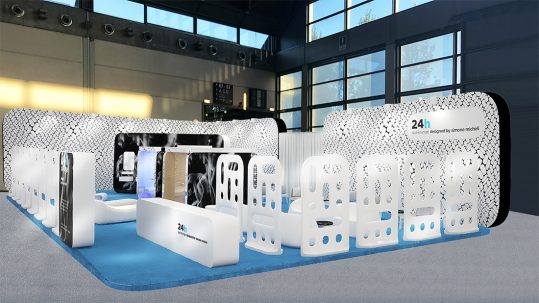 AVE design and technology at SIA Hospitality Design