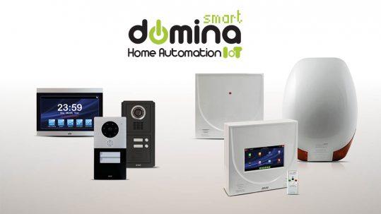 DOMINA Smart anti-intrusion and video intercom: technology becomes stylish