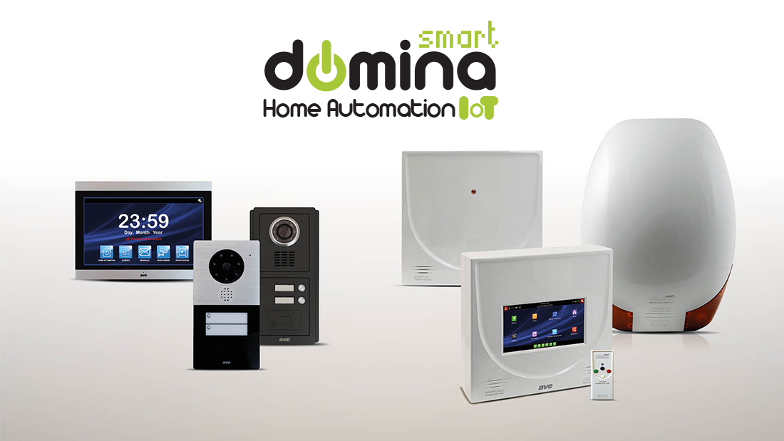 DOMINA Smart anti-intrusion and video intercom: technology becomes stylish