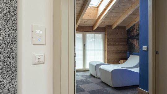 AVE hotel automation transforms the wellness area
