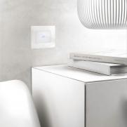 Serie DOMUS placca TOUCH filo muro - Punto luce
