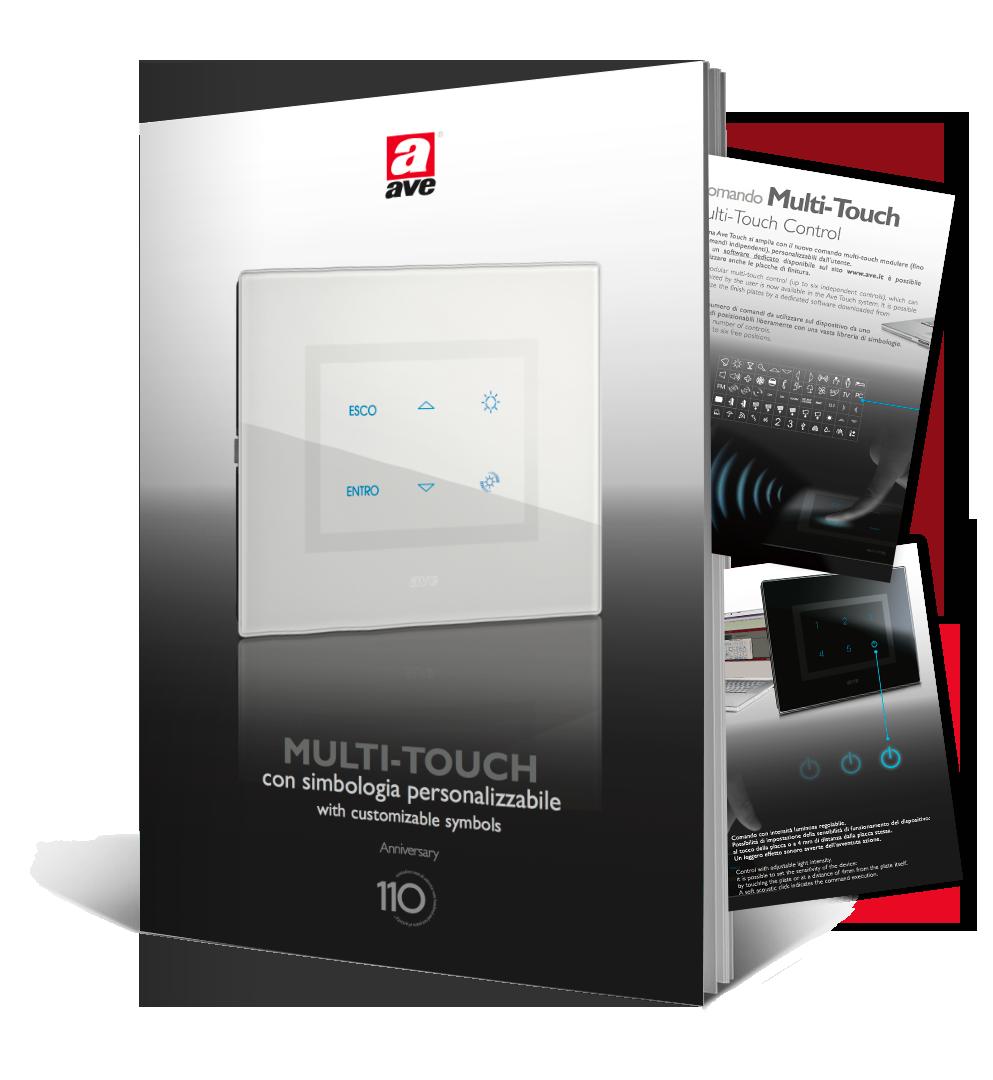 Brochure comando multi touch