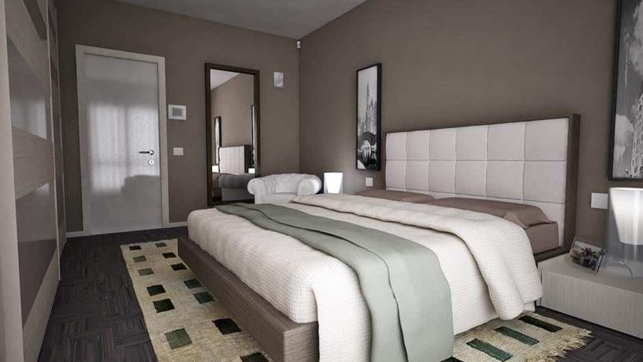 Domotica camera ave touch - Ambientazioni camere da letto ...