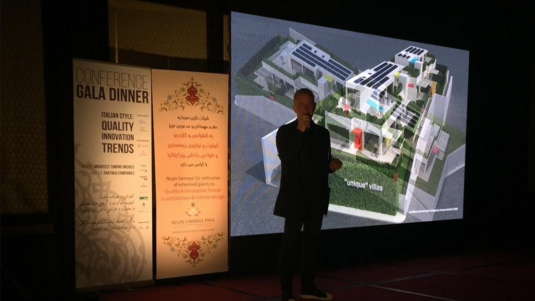 Grande successo per AVE e Simone Micheli a Teheran
