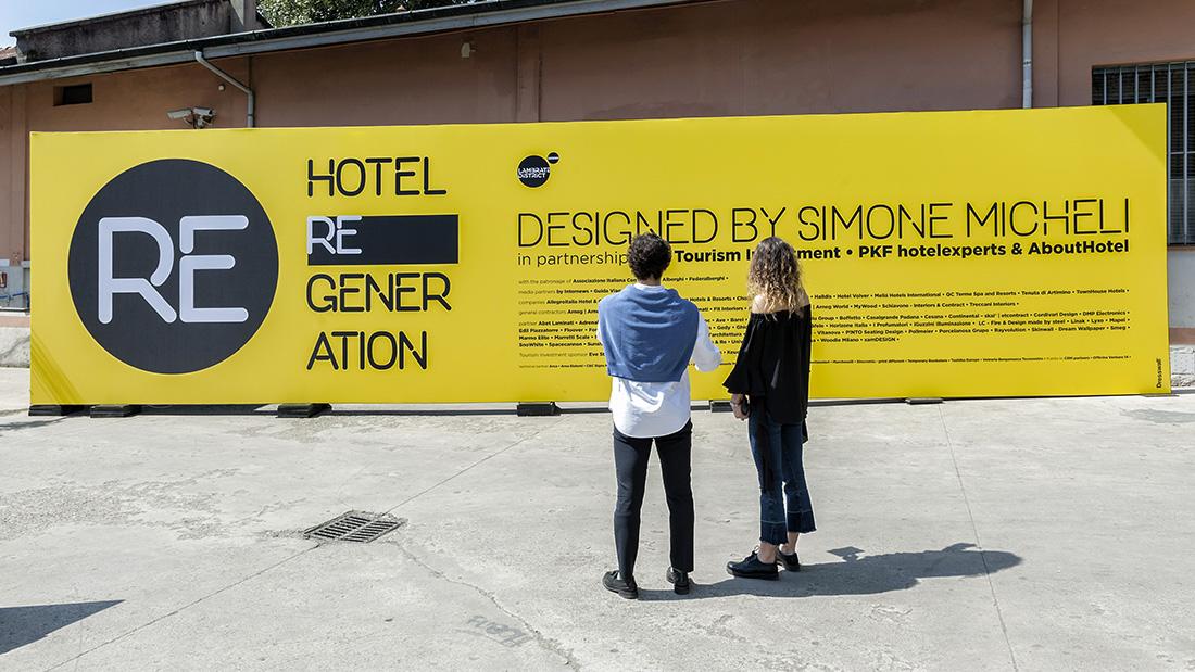 Fuorisalone 2018: Simone Micheli sceglie Ave per Hotel Regeneration